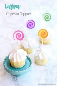 Lollipop Cupcake Toppers Using Cricut Explore Air 2 My