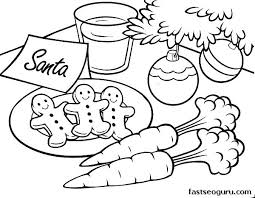 Christmas Tree Printable Coloring Pages Free Ornaments Big Terrific