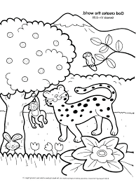 Bible Creation Coloring Pages For Preschoolers Page Sketch Free