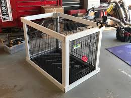How to make a dog crate Plans Spartadog Blog Diy Dog Crate Popsugar Home