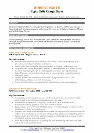 Dialysis Nurse Resume Samples Charge Nurse Resume Samples Qwikresume