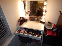 decorating outstanding corner makeup vanity 25 amazing diy in home decor likable picture for table with