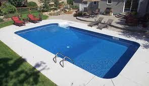 rectangle inground pools.  Pools Rectangular InGround Swimming Pool Photos U2013 Standard Pools To Rectangle Inground T