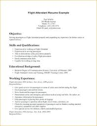 Bilingual Flight Attendant Sample Resume Inspiration Flight Attendant Sample Resume No Prior Experience Best Ideas Of