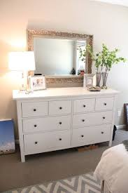 large mirror hung over the dresser | for our home | Pinterest ...