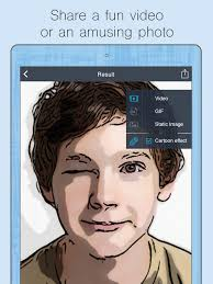 cartoon yourself video effects on the app
