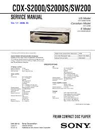 sony cdx s2010 wiring diagram boulderrail org Sony Gt340 Diagram sony cdx s2010 wiring diagram sony gt340 manual