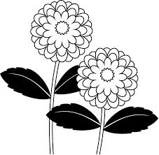 夏の花1 04 ダリア 花の無料イラスト素材 イラストポップ