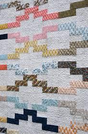 Interlock quilt pattern in Modern Patchwork by Amy Friend | During ... & Interlock quilt pattern in Modern Patchwork by Amy Friend | During Quiet  Time Adamdwight.com