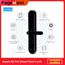 <b>Aqara S2 Pro Smart</b> Intelligent Door Lock Password Fingerprint Key ...