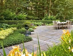 flagstone patio designs. patio, big, dining, table, stone, urn, green flagstone patio liquidscapes designs