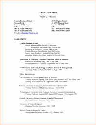London Business School Resume Format Sidemcicek Com