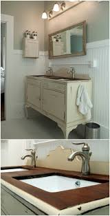40 Gorgeous DIY Bathroom Vanities To Beautify Your Beauty Routine Adorable Bathroom Cabinet Design Plans