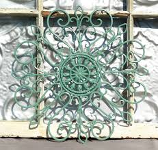 exciting wrought iron wall art for interiors rustic wood paneling and painted wrought iron wall