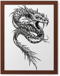 Dračí Had Tattoo šablony