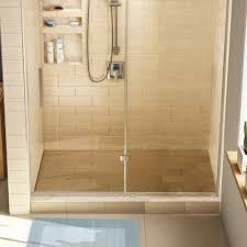 tile redi wonderfall trench single curb shower pan
