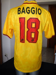 Check out our ac milan selection for the very best in unique or custom, handmade pieces from our prints shops. Ac Milan Match Worn Shirt N 18 Roberto Baggio Coppa Italia 1995 96 Ac Milan Football Shirts