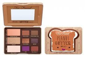 too faced peanut er jelly eyeshadow palette makeup beautyalmanac