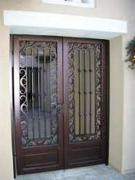 front door gateornate metal security doors  Google Search  Home Safety