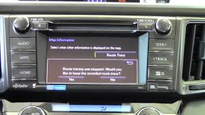 2014 | Toyota | RAV4 | Operate Navigation Map Screen | How To By ...