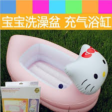 new fashion inflatable bath tub baby portable 0 2 years old infant