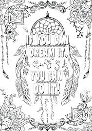 Coloring Sheets For Adults Quotes Girls Coloring Book Danaverdeme