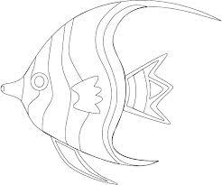 Sea Fish Coloring Pages Sea Fish Coloring Pages Deep Sea Fish