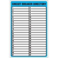 Electrical Panel Schedule Template Printable Circuit Breaker Panel Labels Rome Fontanacountryinn Com