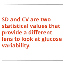 Average Glucose Standard Deviation Cv And Blood Sugar