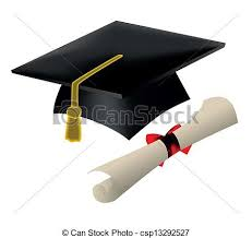 graduation cap and diploma vector illustration search clipart  graduation cap and diploma vector