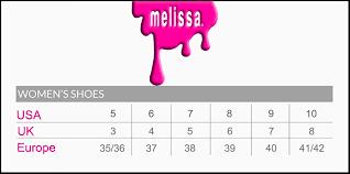 Melissa Shoes Size Guide Rio Bum