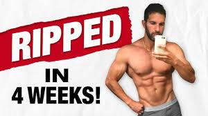 6 day m muscle building workout routine for men