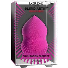 details about loreal paris makeup infallible blend artist makeup blender sponge 0 8 oz