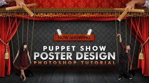 Talent Show Poster Designs Photoshop Tutorial Puppet Show Poster Youtube