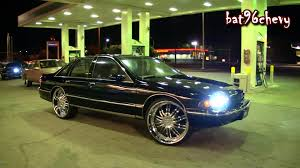 All Chevy 96 chevrolet caprice : 94 Caprice & 96 Caprice on Lexani/Forgiato 26's, Mustang GT on 24 ...