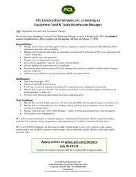 Warehouse Job Resume Work Objective For Resume Objective Resume