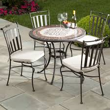 outdoor patio dining table italian mosaic stone