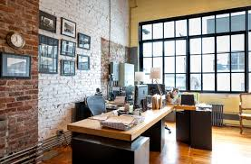 loft home office. Urban Loft Industrial-home-office-and-library Home Office E