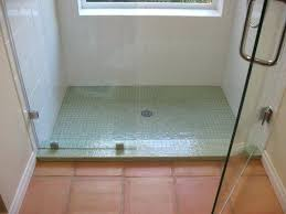 install a ceramic tile shower floor pan amazing installing in how to of expert installation installing tile over shower floor