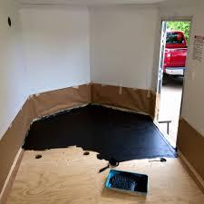 race trailer flooring ideas designs