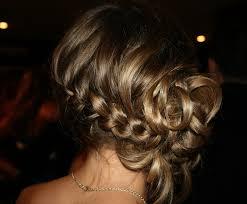 French Braid Updo Hairstyles Braided Updo Anna Nimmity