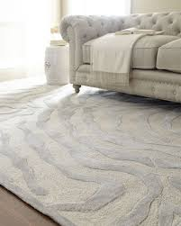 silver zebra rug 5 round