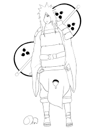 Naruto Kleurplaat Tv Series Kleurplaat Animaatjesnl
