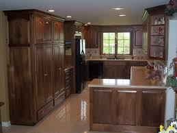Home And Garden Kitchen Gorgeous Walnut Kitchen Cabinets On Home Garden Kitchen Bar Black
