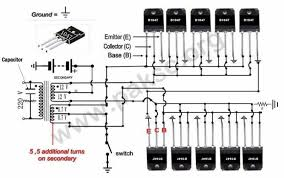 220vac wiring diagram how to build a 12 vdc to 220 vac power inverter ups do science 500 watt 100 watt inverter schematic