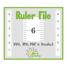Growth Chart Ruler Stencil File Svg Jpg Pdf Cut File Instant Download Perfect For Vinyl And Stencils