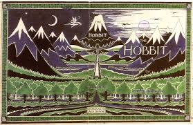 the hobbit j r r tolkien book cover