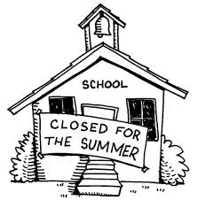 Small Picture School House is Closed for the Summer Coloring Page Coloring Sky