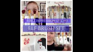 new elf cosmetics snow white disney makeup brush collection sold at walgreens