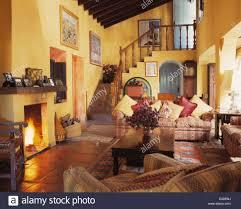 Yellow Living Room Set Living Room Living Room In Spanish Style Living Room In Spanish
